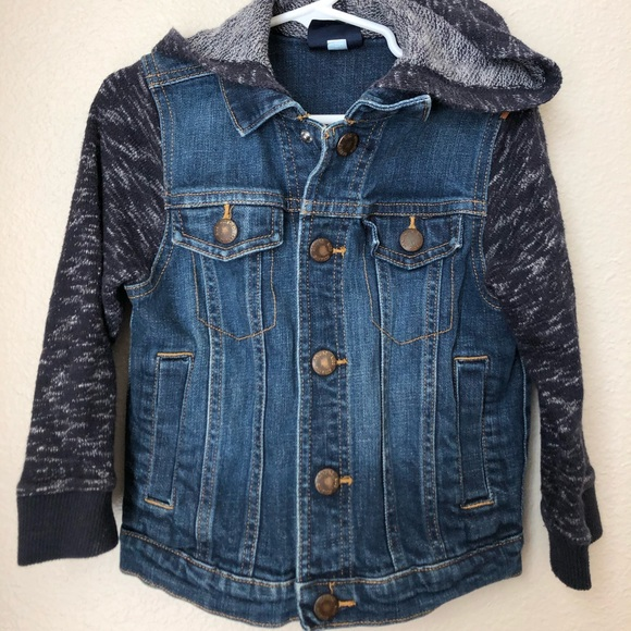 Hooded Denim Jacket